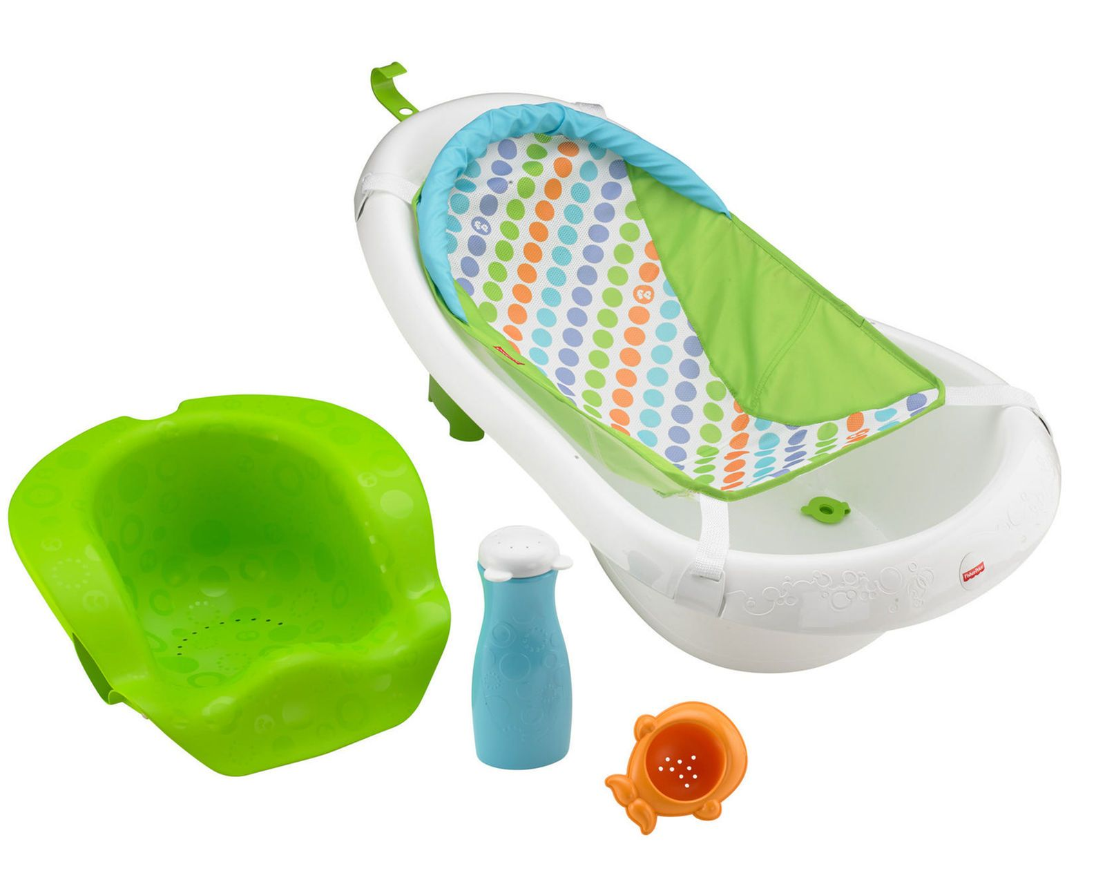 Fisher-Price 4-in-1 Sling \'n Seat Tub: Four-stage bath center now ...
