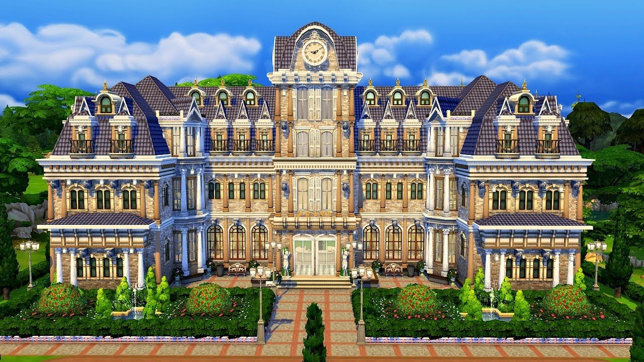 The Sims 4 Museum Library Collab W Bellguru Speed Build