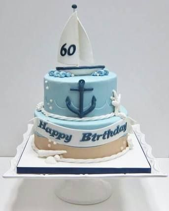 Awesome Image Result For Nautical Themed 40Th Birthday Cake Ideas Personalised Birthday Cards Veneteletsinfo