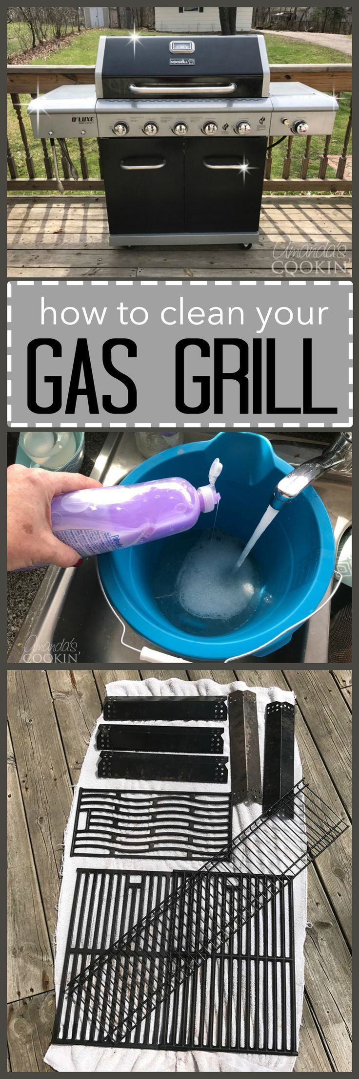 how to clean your gas grill get ready for barbecue season