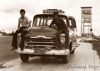 Angkot Jadul Chevrolet Kota Palembang Sejarah