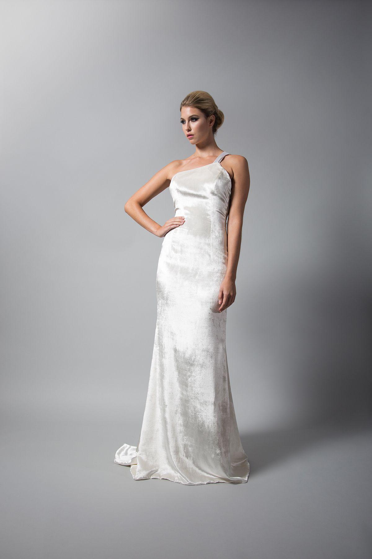 White Velvet Wedding Gowns | Wedding