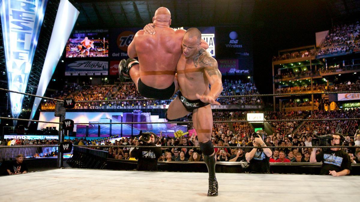 Stone Cold Steve Austin Vs The Rock The Rock Full Match Pro Wrestling