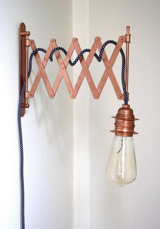 Lampe accord on industrielle applique murale design - Lampe murale industrielle ...