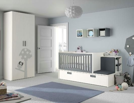 Cunas convertibles http://www.mamidecora.com/muebles-transformables ...