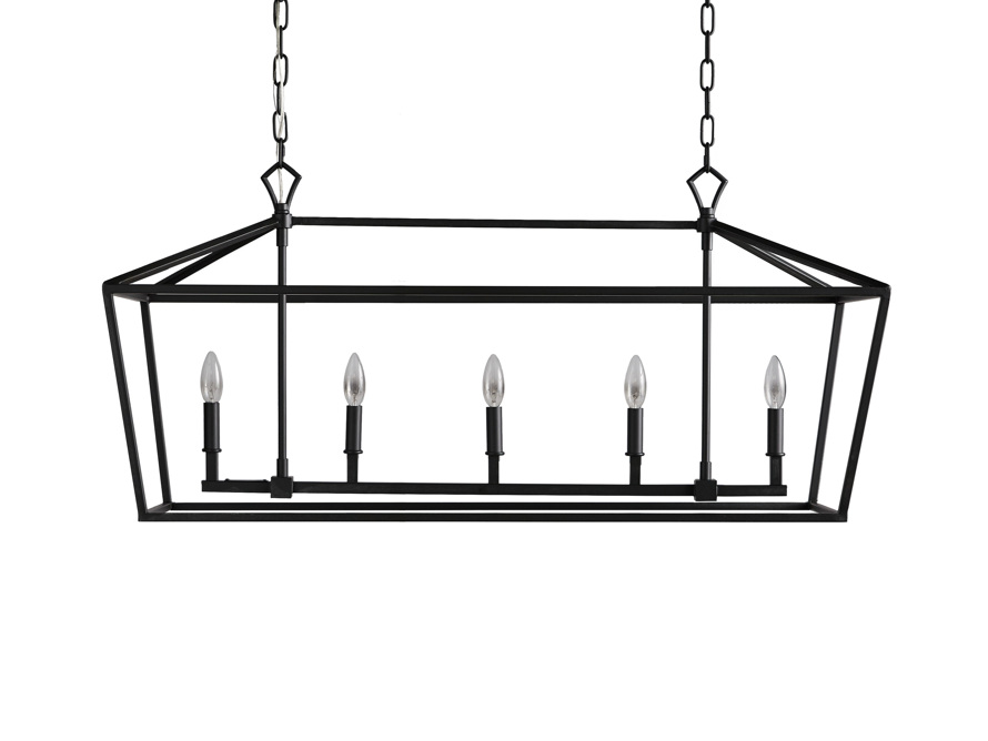 Best Hemisphere Garnet Rectangular Chandelier In Antique Bronze 640 x 480