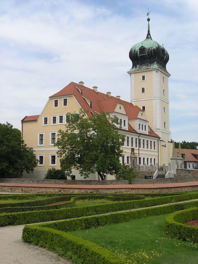 Barockschloss Delitzsch 01 Schloss Delitzsch Sachsen Deutschland