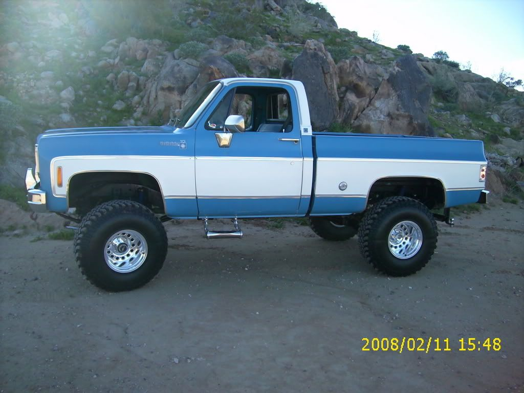 73-87 chevy short bed frame