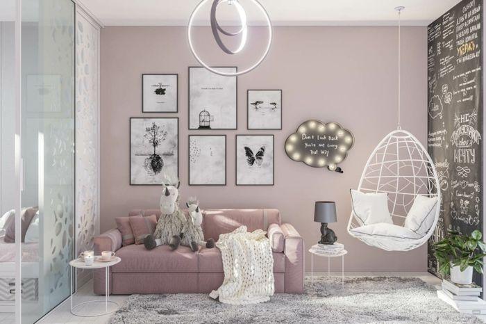 1001 Ideen Fur Altrosa Wandfarbe Zum Geniessen Altrosa Wandfarbe Wandfarbe Wohnzimmer Rosa Wandfarbe