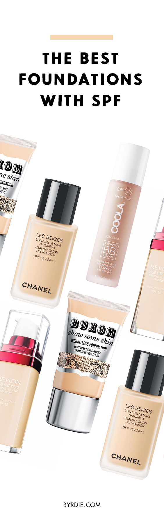 The best foundations to wear in the summer