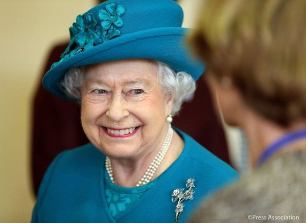 The queen visits Tapping House Hospice nr Kings Lynn 04.02.16