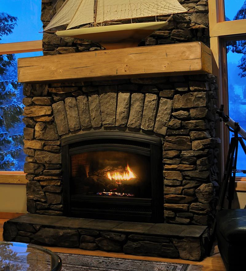 Stone Fireplace Kaminumrandung Kamin Regale Kaminsims