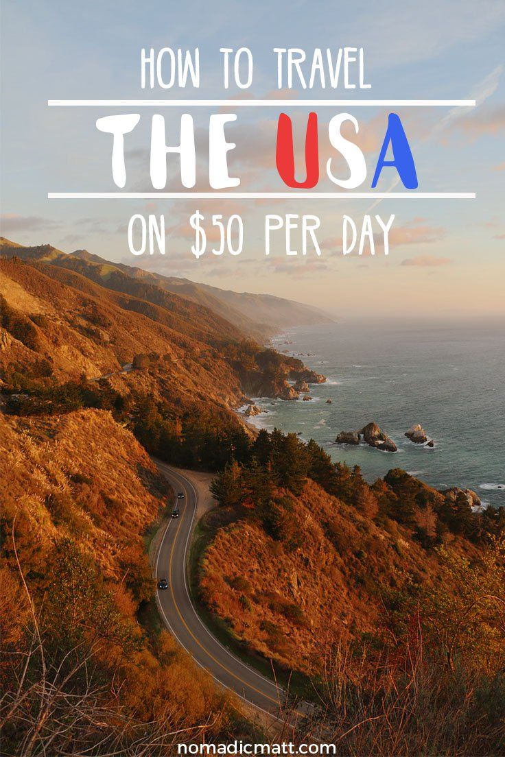 How to Road Trip Across the United States on 50 a Day