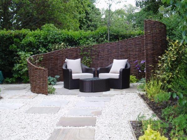 Attractive Garden Screen By Cherry Mills Garden Design