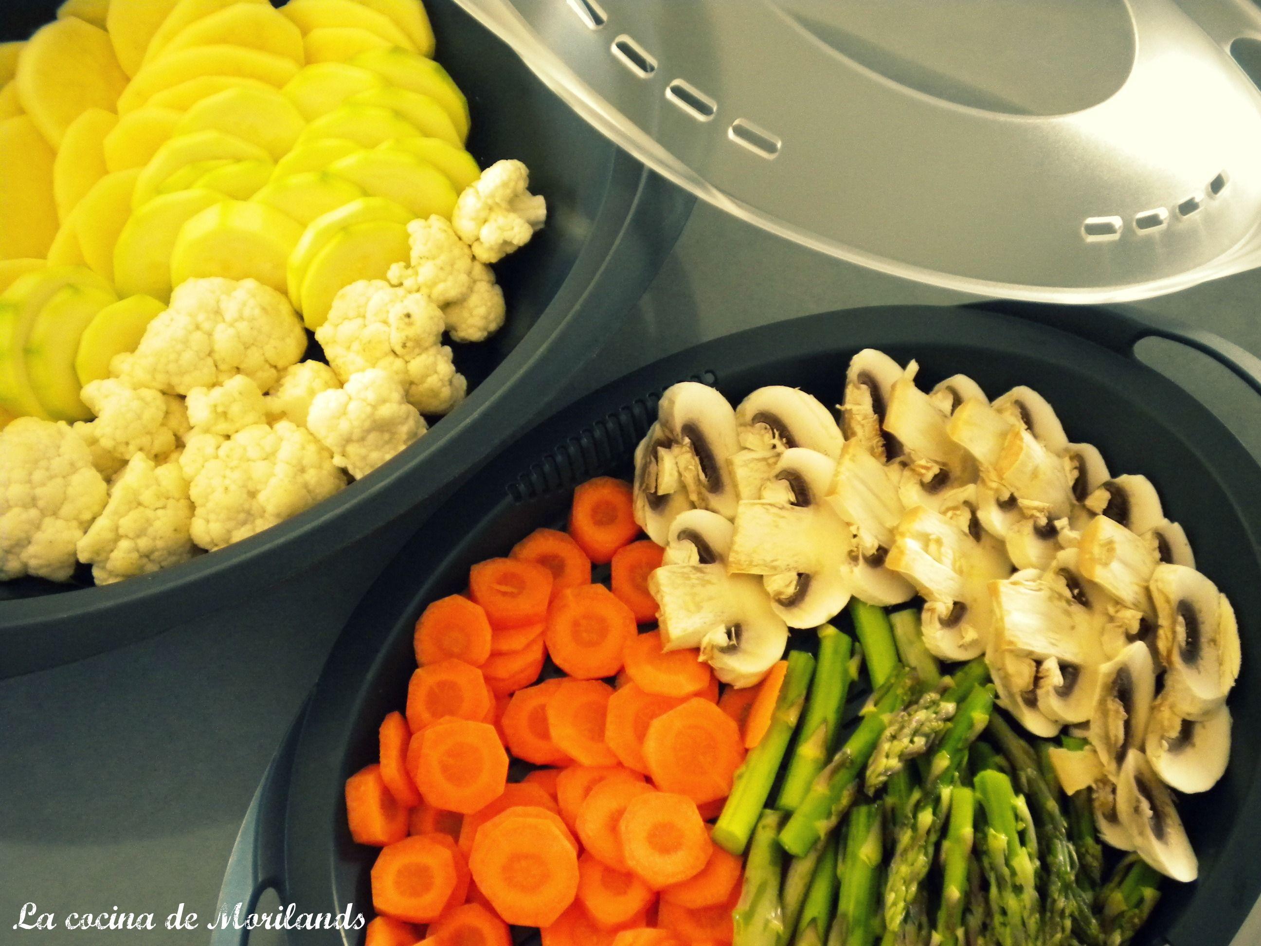 Verduras al vapor con bechamel de dieta recetas light - Cocinar verduras para dieta ...
