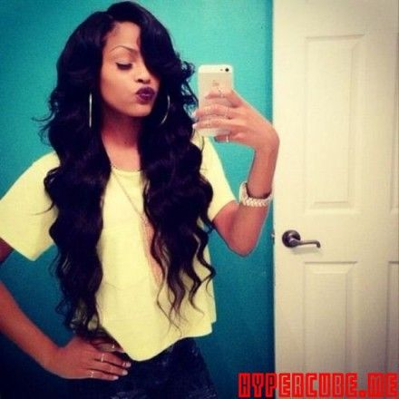 cute curly weave hairstyles tumblr - Google Search | Projects to ...