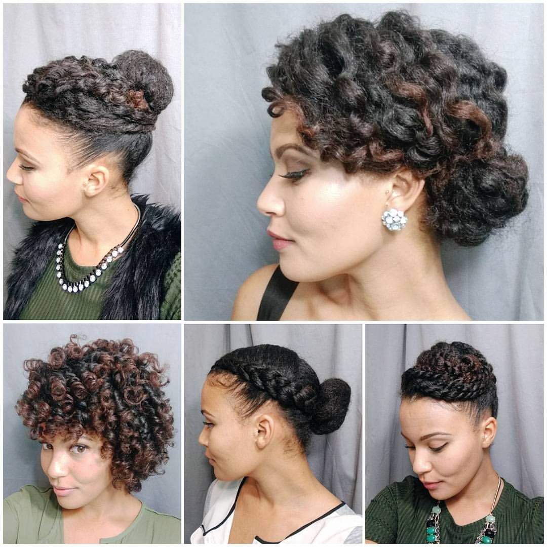 Christmas Hairstyles For Black Hair.Happy Christmas Eve Need Some Last Minute Holiday Hair