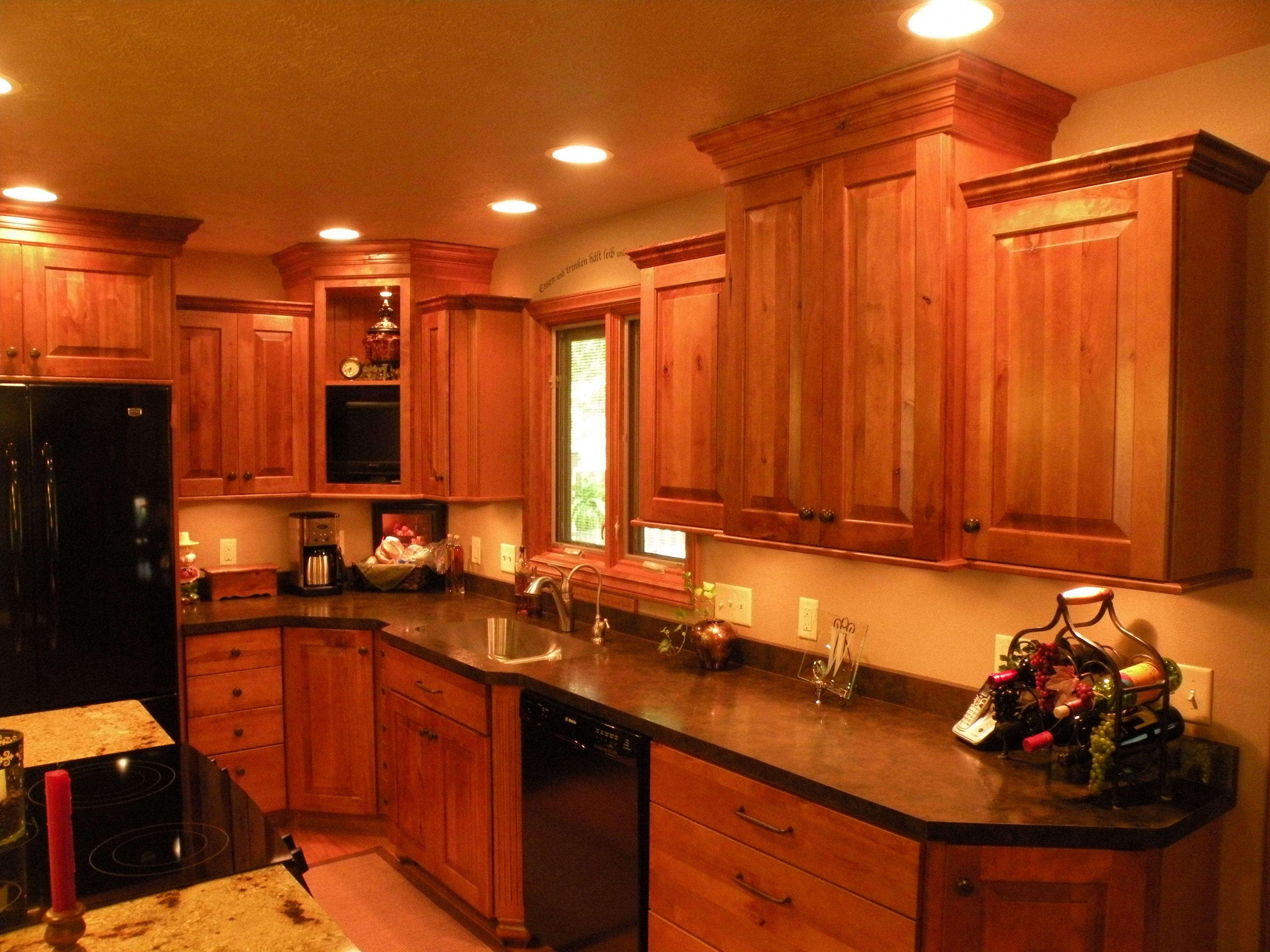 Kraftmaid Rustic Birch Kitchen Interior Home Designs Interior Updated Kitchen Kitchen Remodel Kitchen