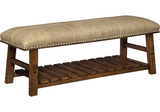 For A Crowley Tawny Accent Bench