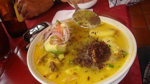 Yaguarlocro  buen provecho bon appetit enjoy your meal