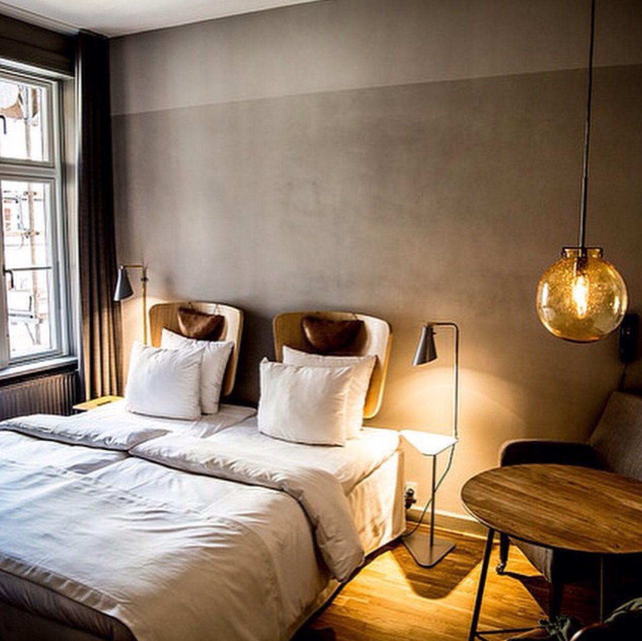 Matte gray bedroom walls