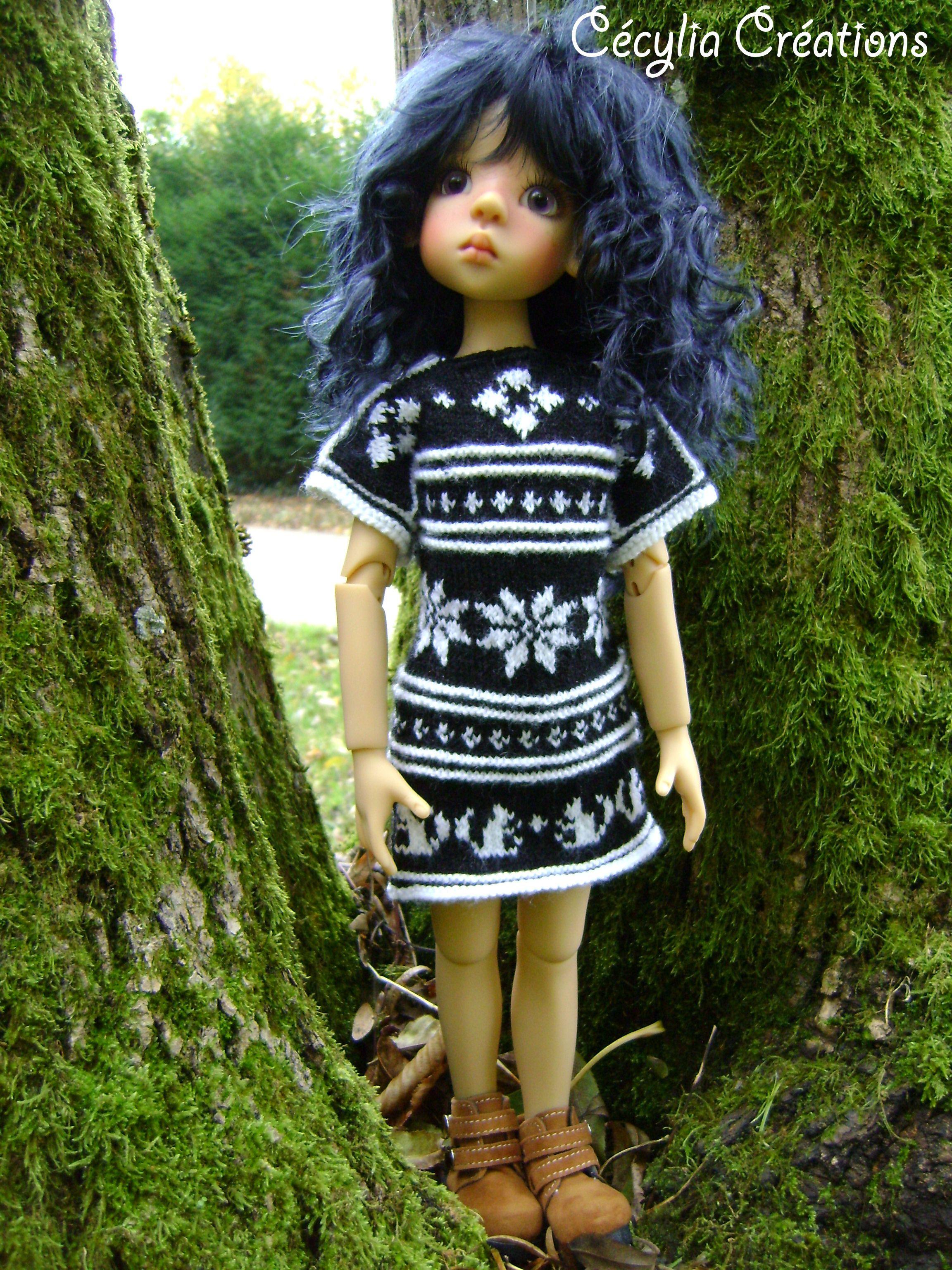 Hannah, Layla de Kaye Wiggs. Knitting pattern : Cheyenne. https://www.etsy.com/shop/CECMAR