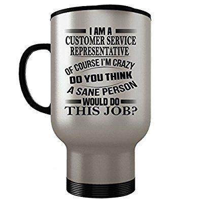 Customer Service Representative Travel Mug - Customer