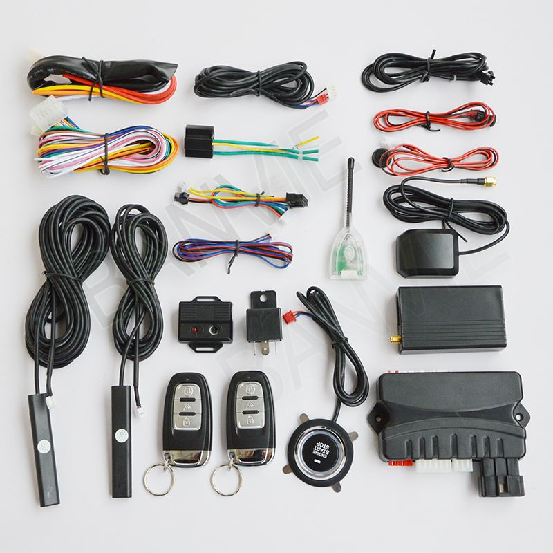 3 in 1 Car GPS GSM Tracker + Two Way PKE Car Alarm Security System + ...