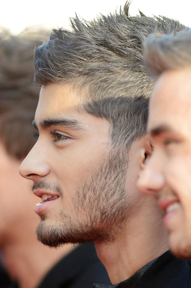 coiffure homme zayn