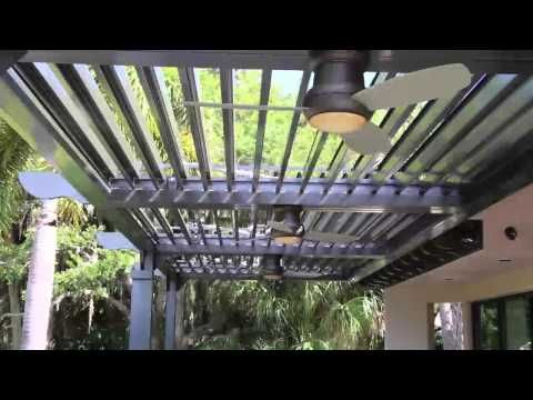 Louvered Pergolas: Motorized Outdoor Structures And Patio Covers