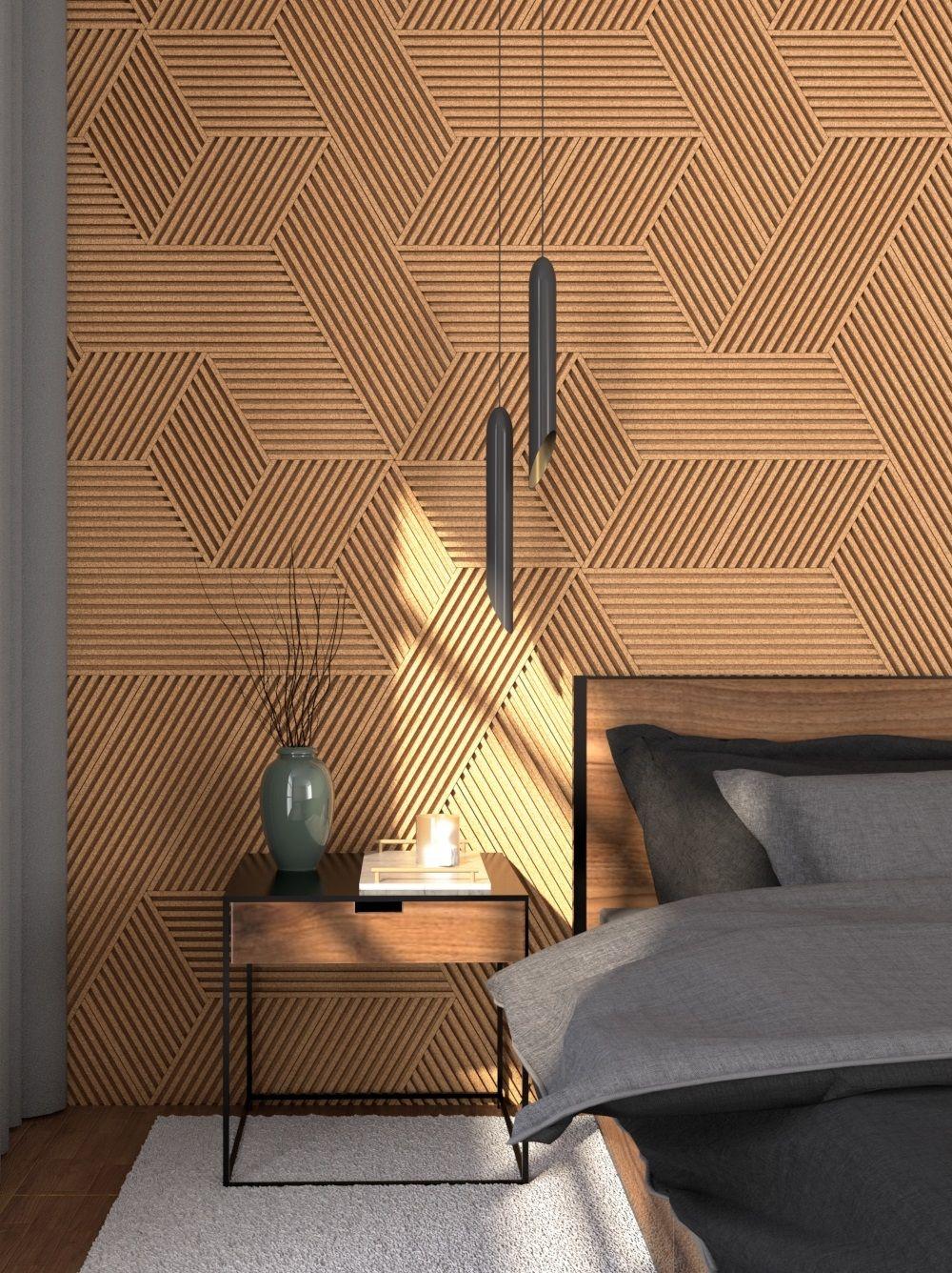 Decorative Natural 3d Streep Cork Wall Tiles Bestseller Cork Wall Tiles 3d Experts In Cork Products In 2020 Cork Wall Tiles Cork Wall Wall Tiles