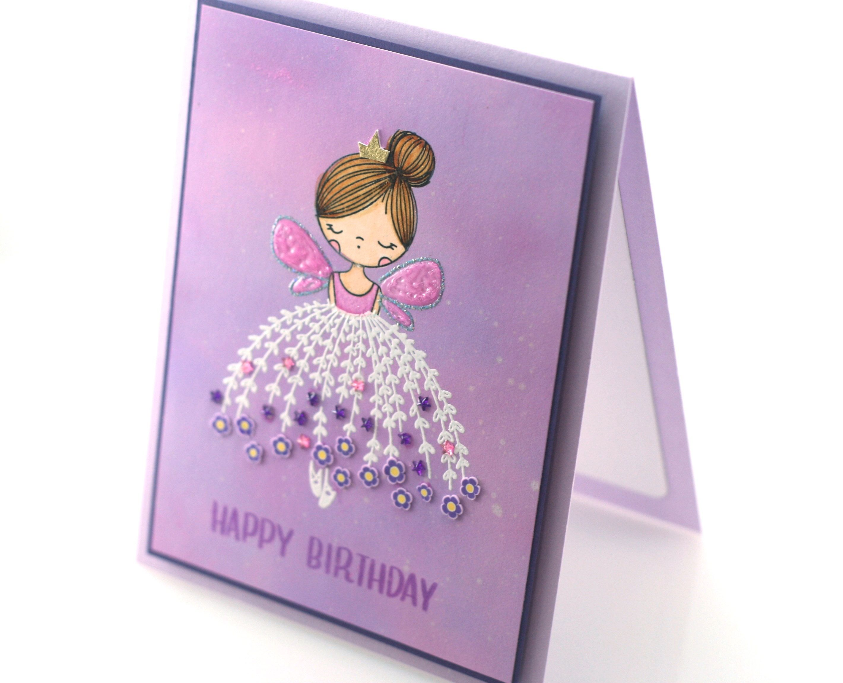 Ballerina Birthday Card Angel Flower Girl Happy Birthday Etsy Birthday Cards Happy Birthday Cards Cards Handmade
