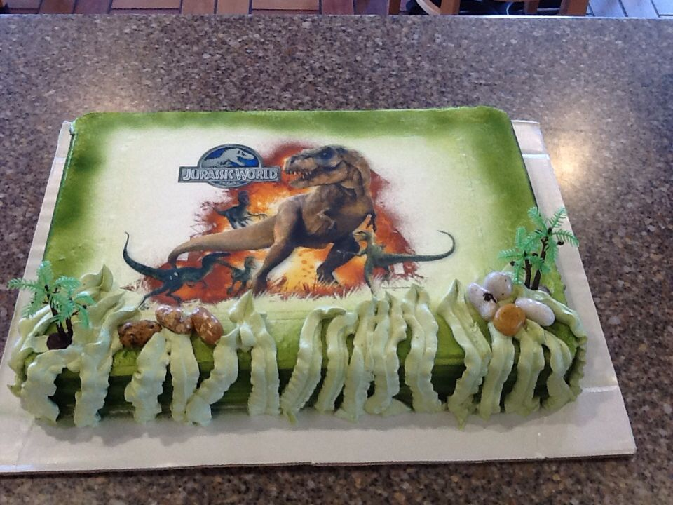 Dq cakesdairy queen jurassic world jurassic world