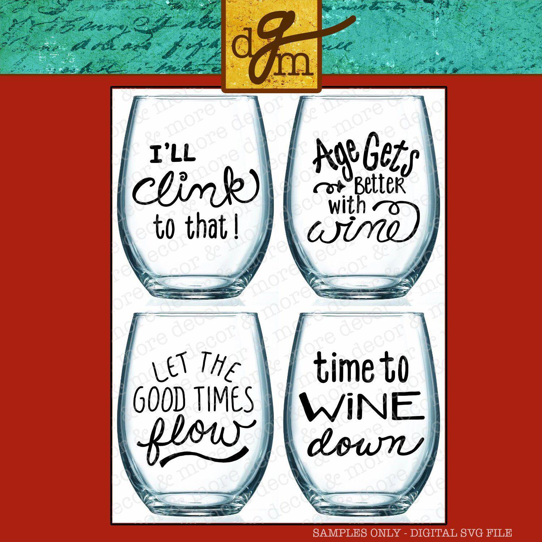Svg Bundle Wine Glass Sayings Diy Wine Glass Decal Svg Wine Etsy Wine Glass Sayings Diy Wine Glass Wine Glass Decals