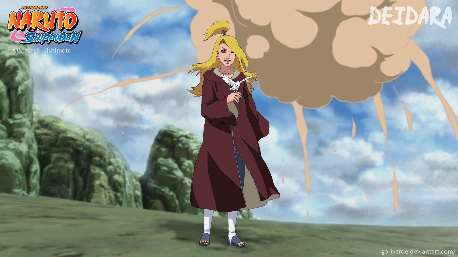 Deidara Edo Tensei Edo Tensei Anime Naruto Characters