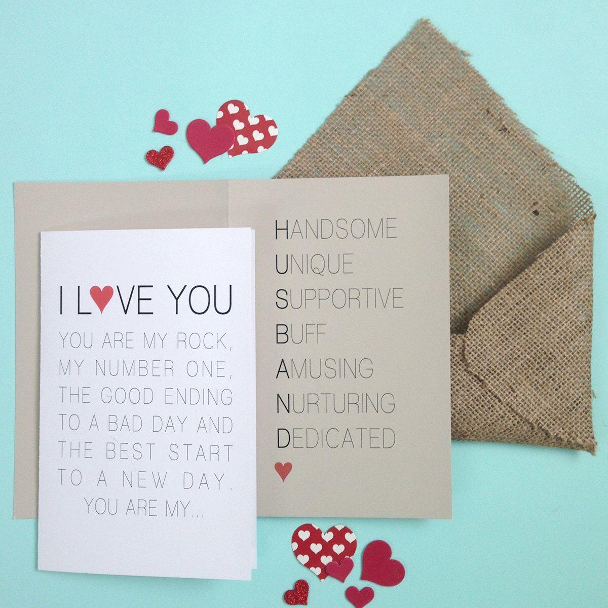 Valentine Card Printable - valentines day card valentine card him ...