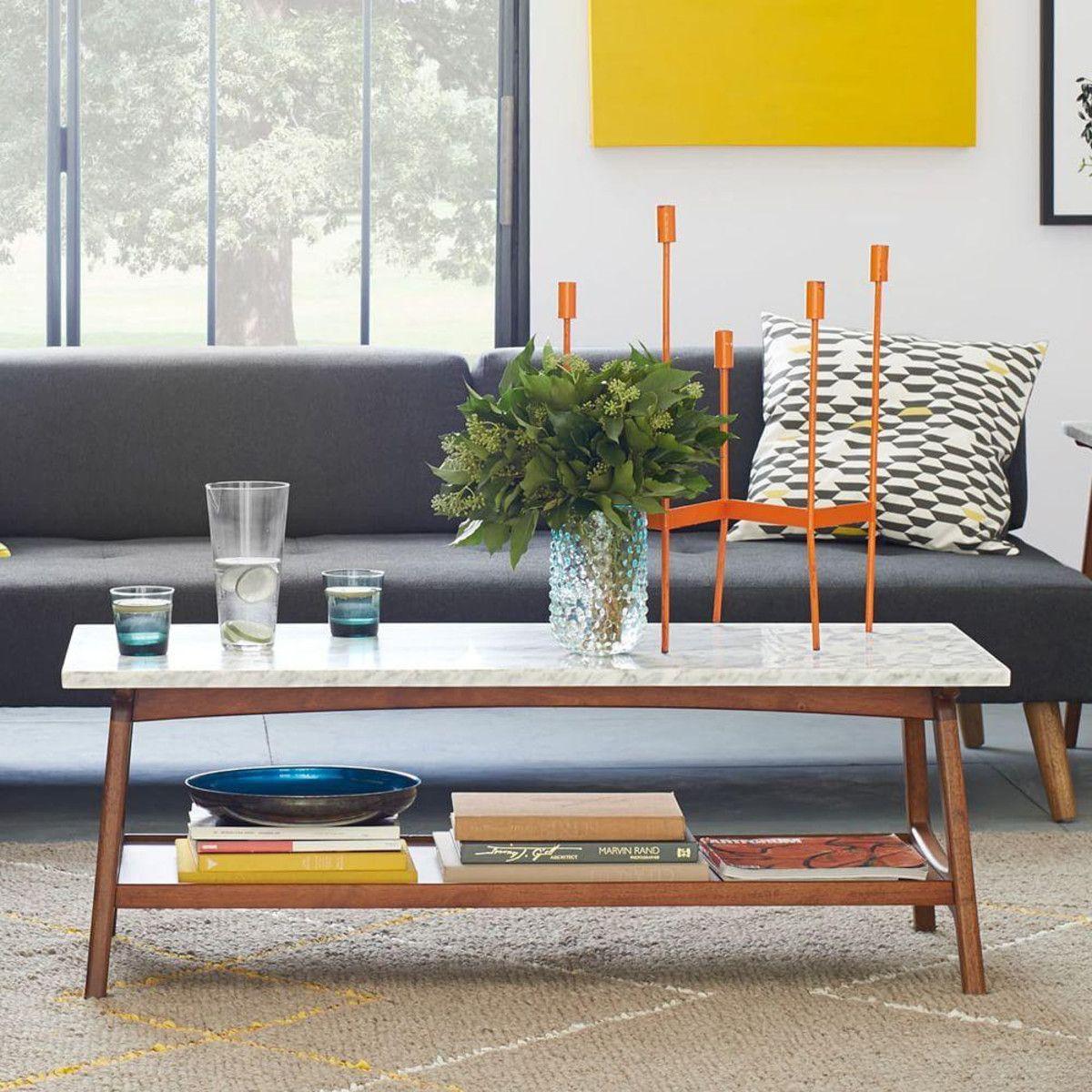 Reeve Mid Century Rectangular Coffee Table Mid Century Coffee Table Mid Century Modern Coffee Table Coffee Table [ 1200 x 1200 Pixel ]