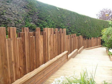 Panneau Bois Nymphea Pour Un Effet Destructure A Votre Jardin Amenagement Exterieur Bois Panneau Bois Cloture Jardin Bois Amenagement Jardin Devant Maison