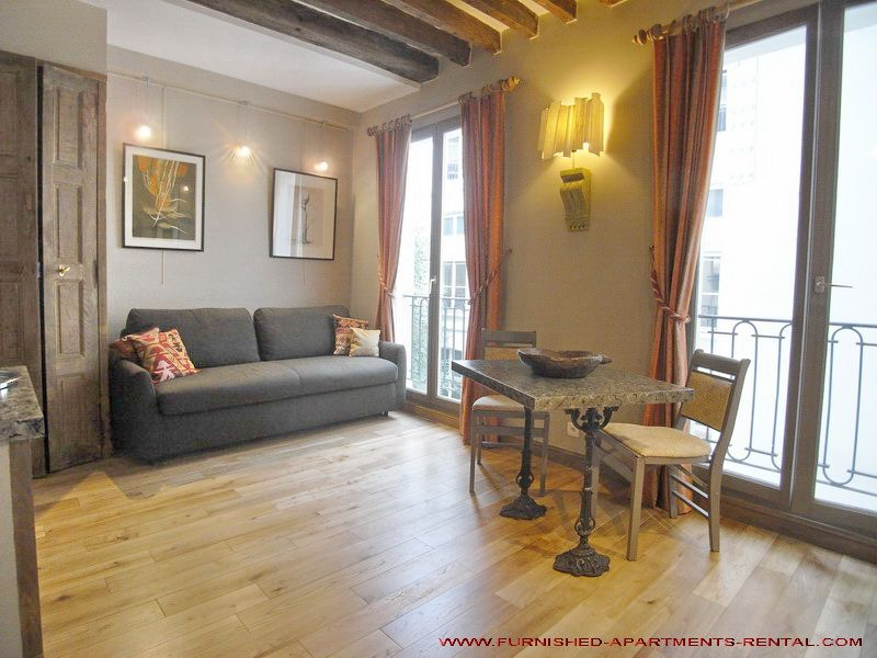 Appartement meublé Paris Studio Opéra - Paris Furnished Apartment