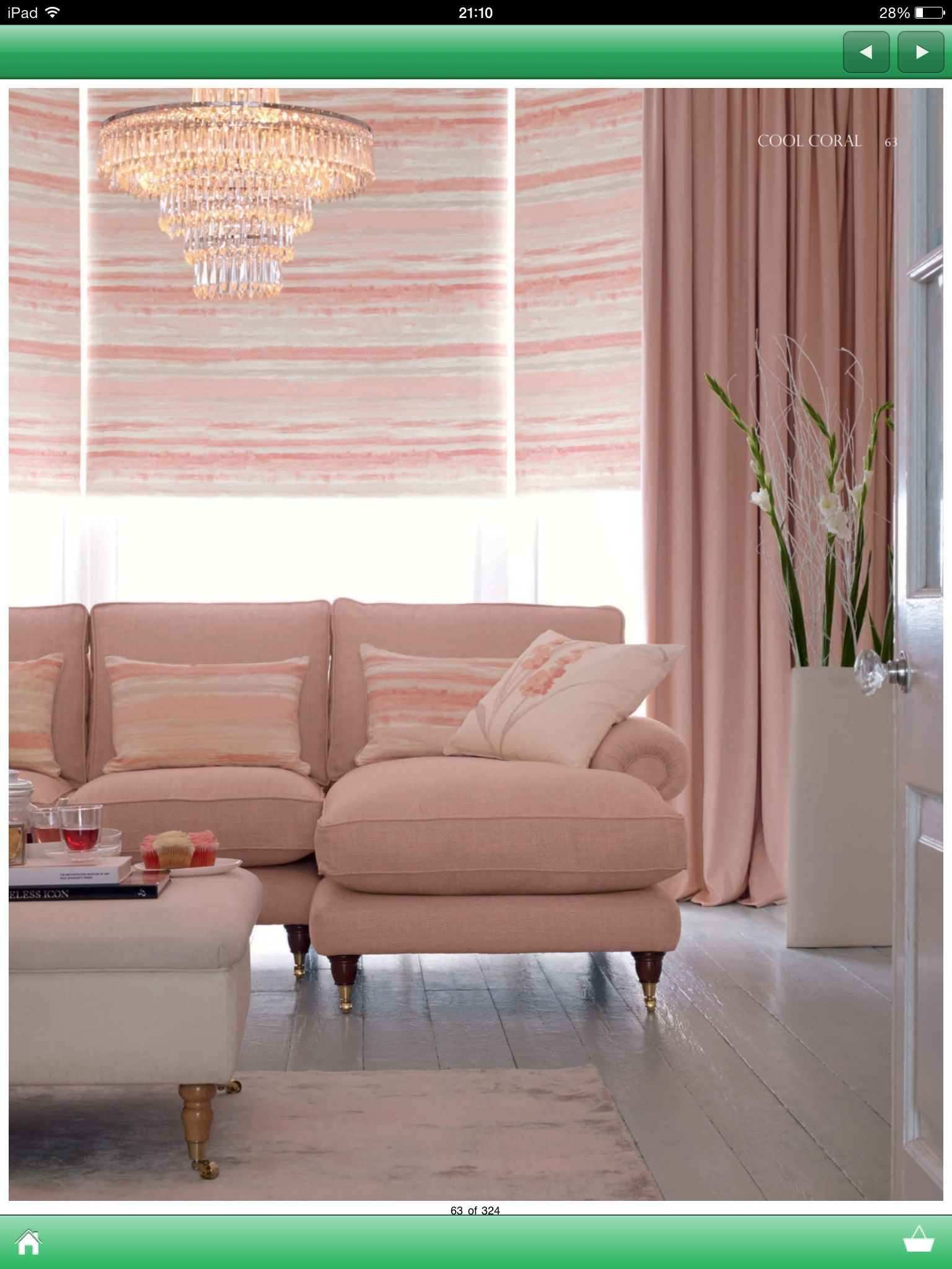 Laura Ashley Sofa Pink Laura Ashley Living Room | Living Room | Home Decor, Pink