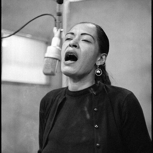 Lady sings the....