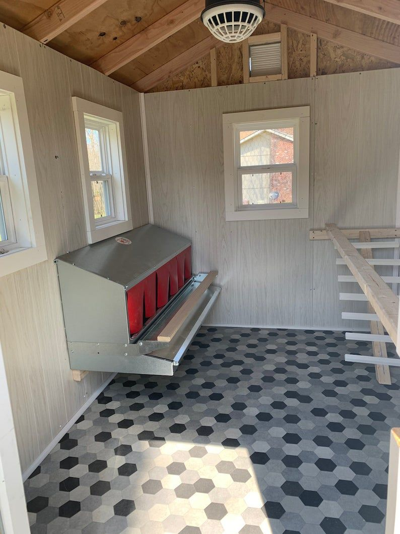 Chicken Coop Plans PDF Easy 6x8 DIY Chicken Coop Backyard Chicken Coop
