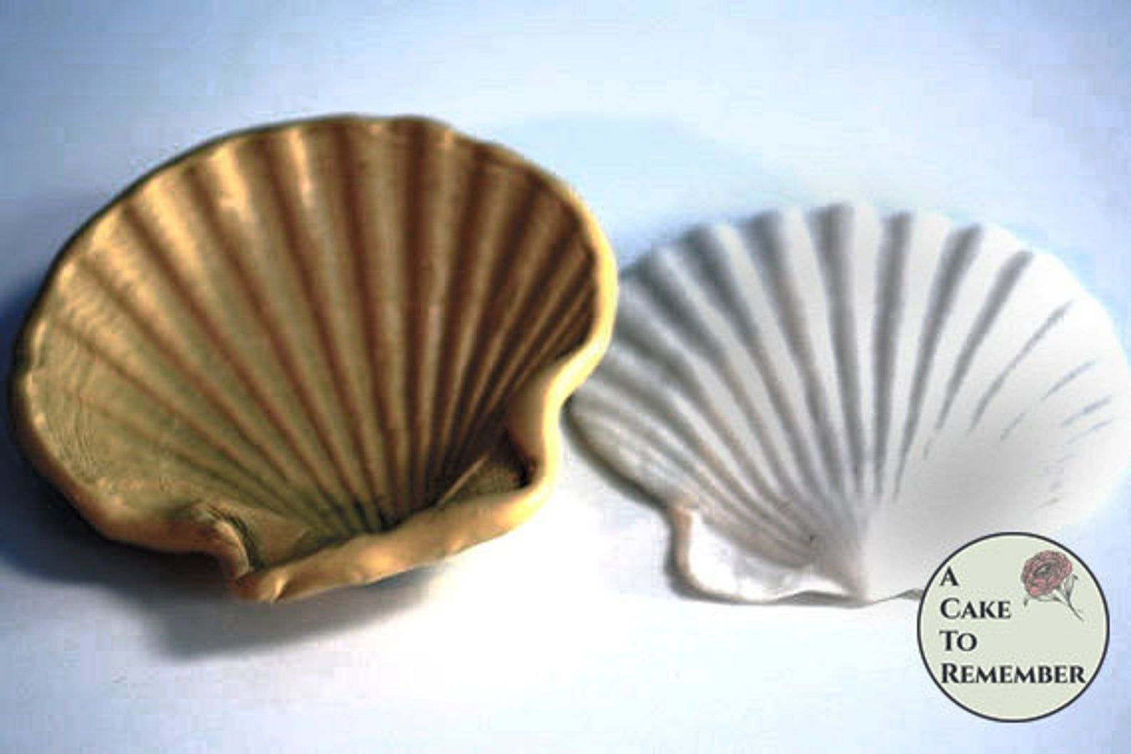 4 Clam Shell Silicone Mold For Cake Decorating Etsy Cake Decorating Beach Themed Cakes Silicone Molds