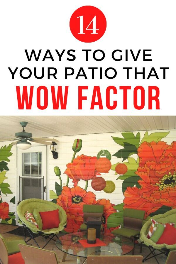 Do you want to make over your outdoor patio on a budget? check out these easy and cheap DIY projects to update your outdoor space. #hometalk