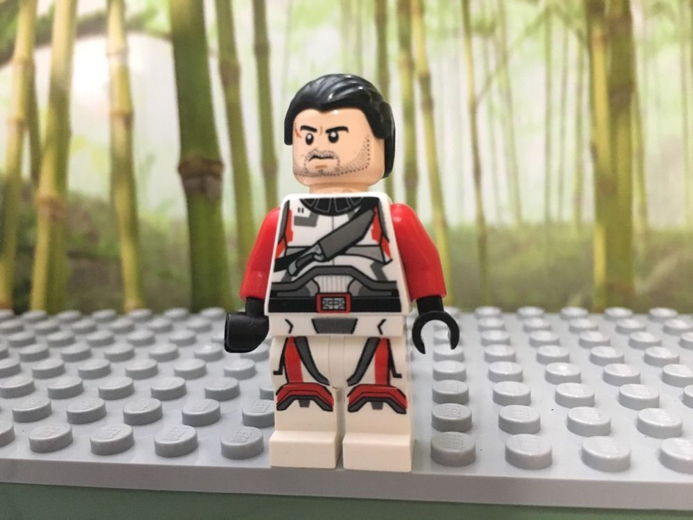 LEGO Star Wars Jace Malcom Republic Trooper 9497 Old Republic Strike Fighter
