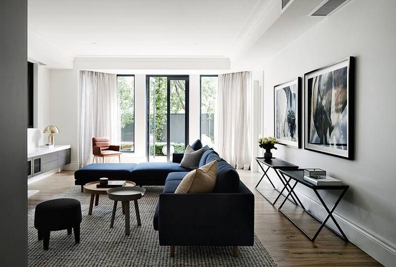 A Case Study In Sophisticated Simplicity This Toorak Apartment By