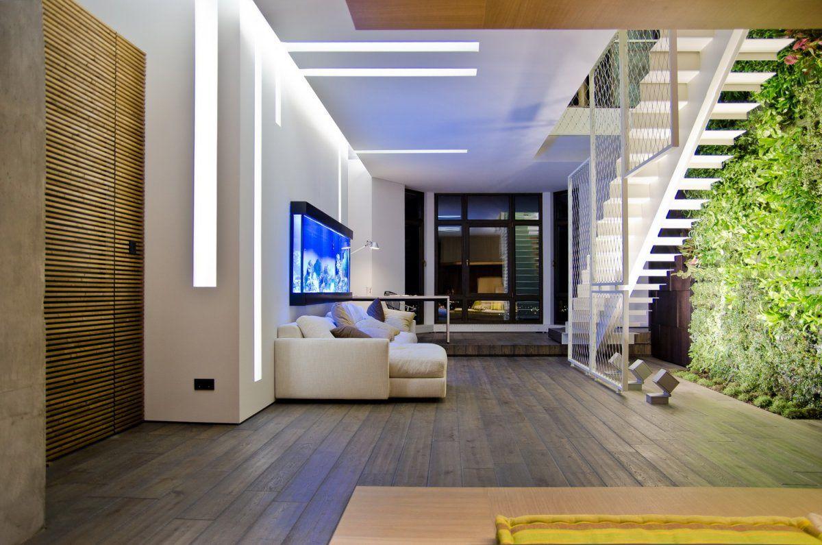 Iluminaci n led interior locales led en techo y paredes - Led iluminacion interior ...