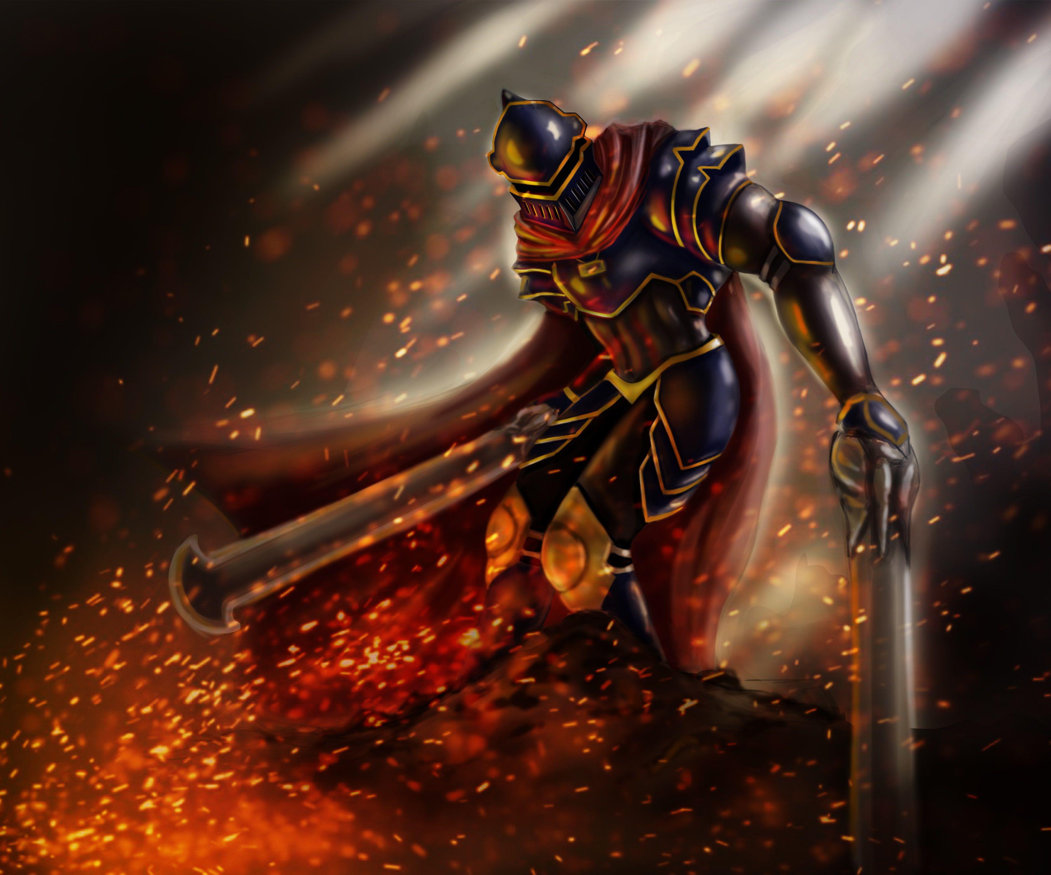 Overlord Anime Shalltear Bloodfallen Knight Fighting 3840x2160 Wallpaper Shalltear Bloodfallen Overlord Anime Overlord Anime Wallpapers