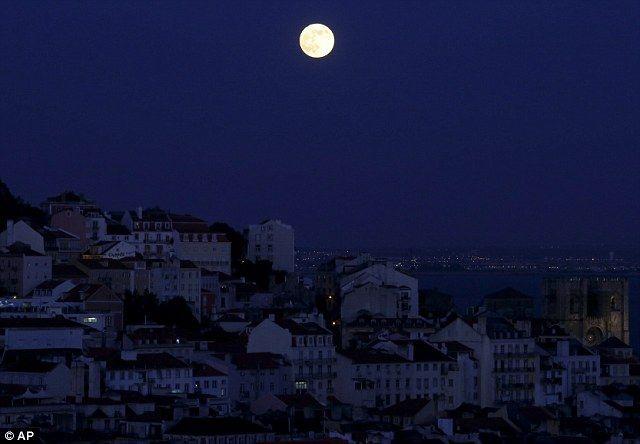 Image result for moon over lisbon