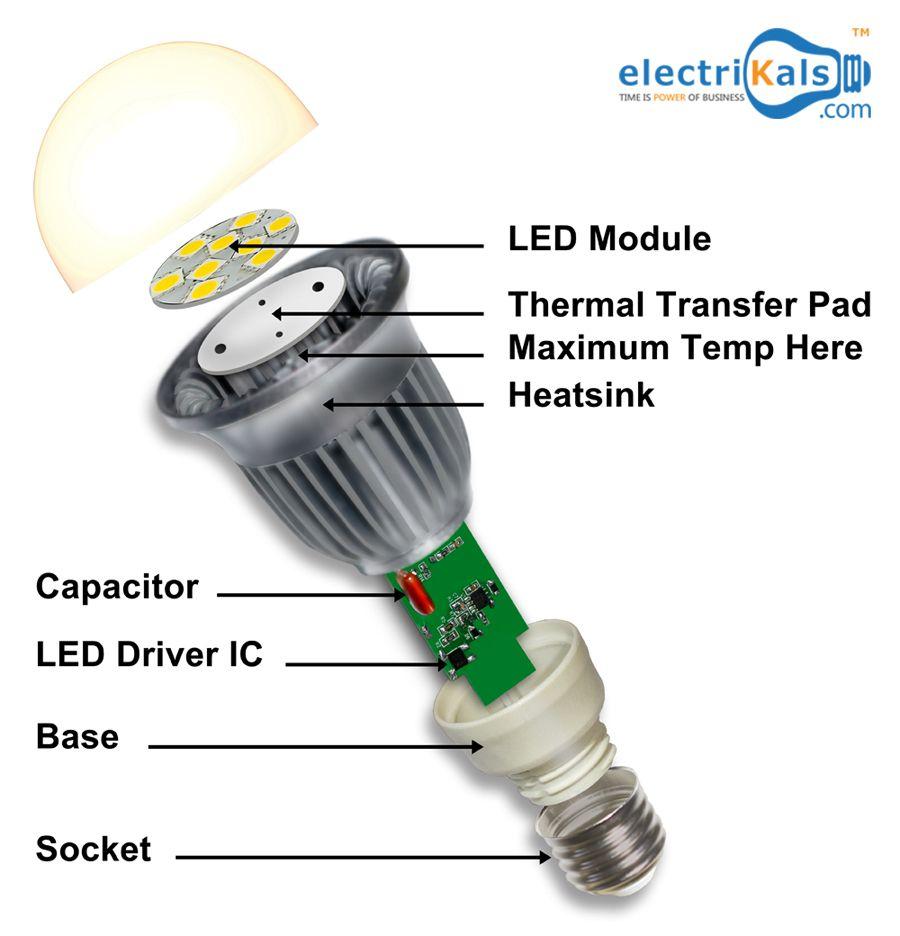 Led Bulbs Light Emitting Diode Ledbulbs Electrikals